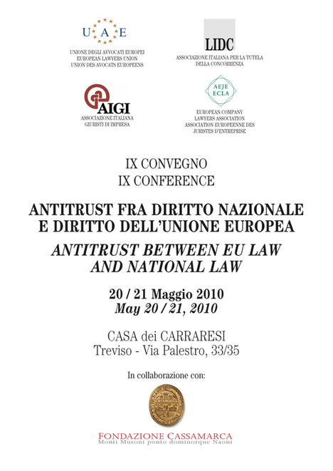 Poster di IX Antitrust Conference