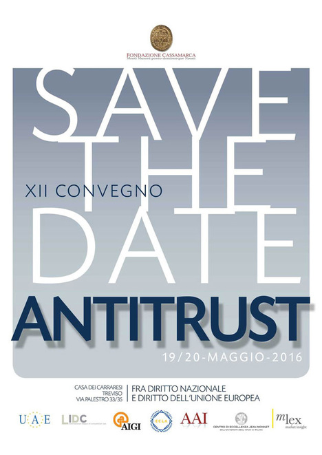 Poster di XII Antitrust Conference
