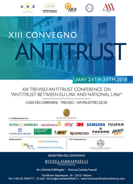 Poster of XIII Antitrust Conference