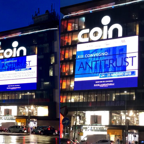 Image of LED Display - Coin, Milano